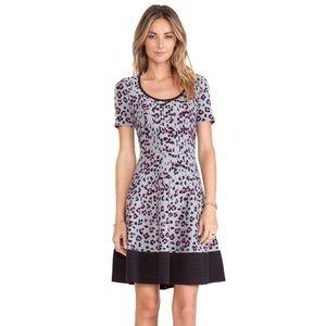 Kate Spade NY Cyber Cheetah Sweater Dress